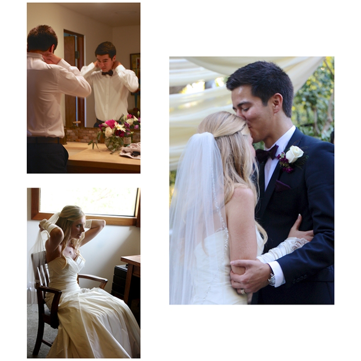 Wedding preparations and final vows for the 2014 wedding of Mr. and Mrs. Galdamez in Santa Ana, CA.