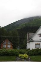 Outside Moby Dick hostel in Seward, AK. (2011)